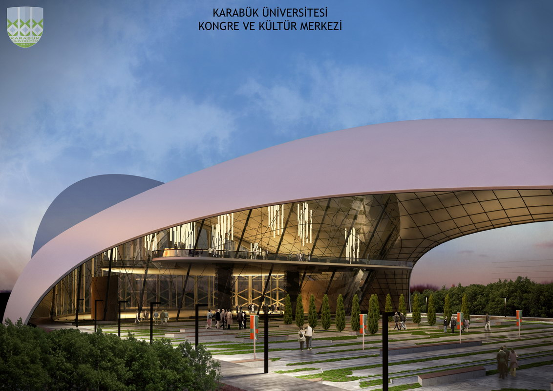 Karabük Üniversitesi Kongre Merkezi Prekast