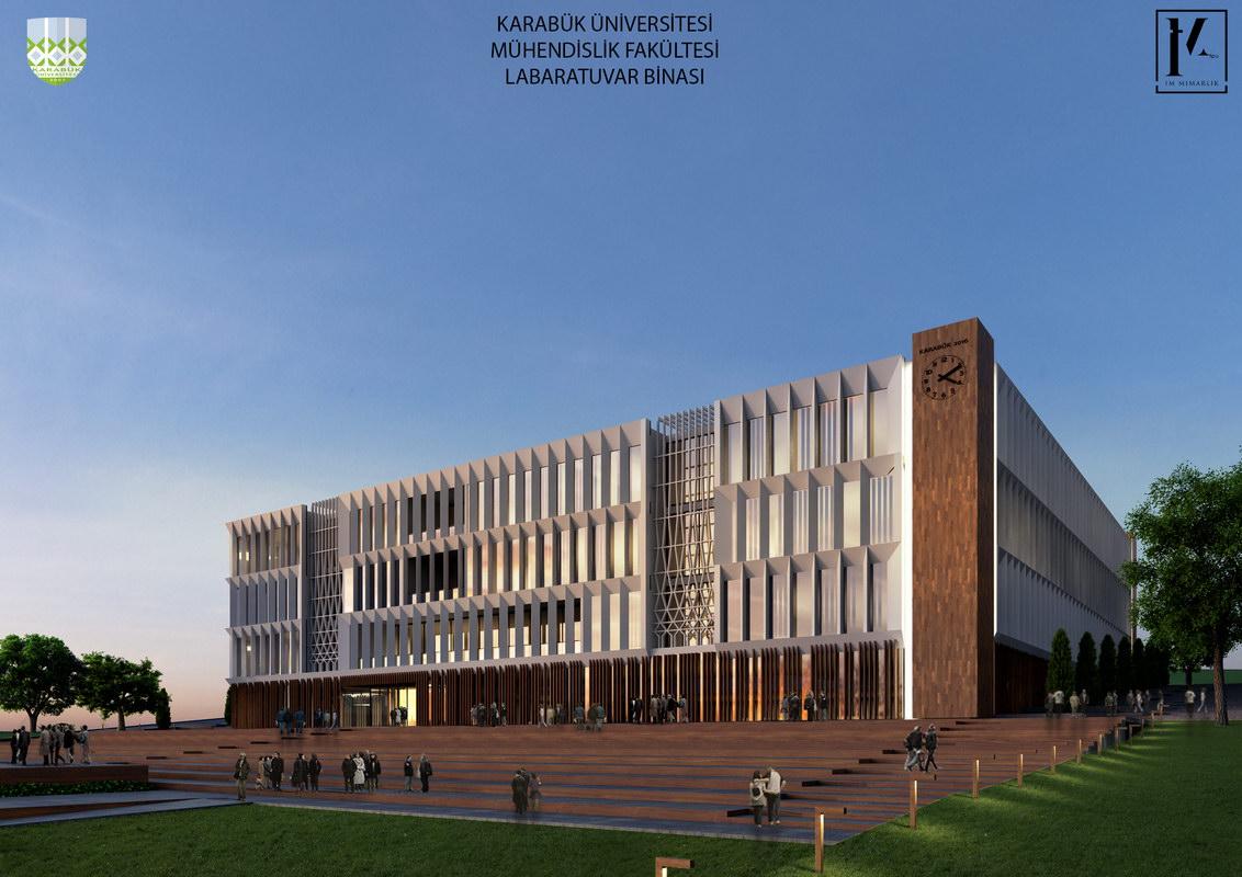 Karabük Üniversitesi Mühendislik Laboratuvarı Prekast